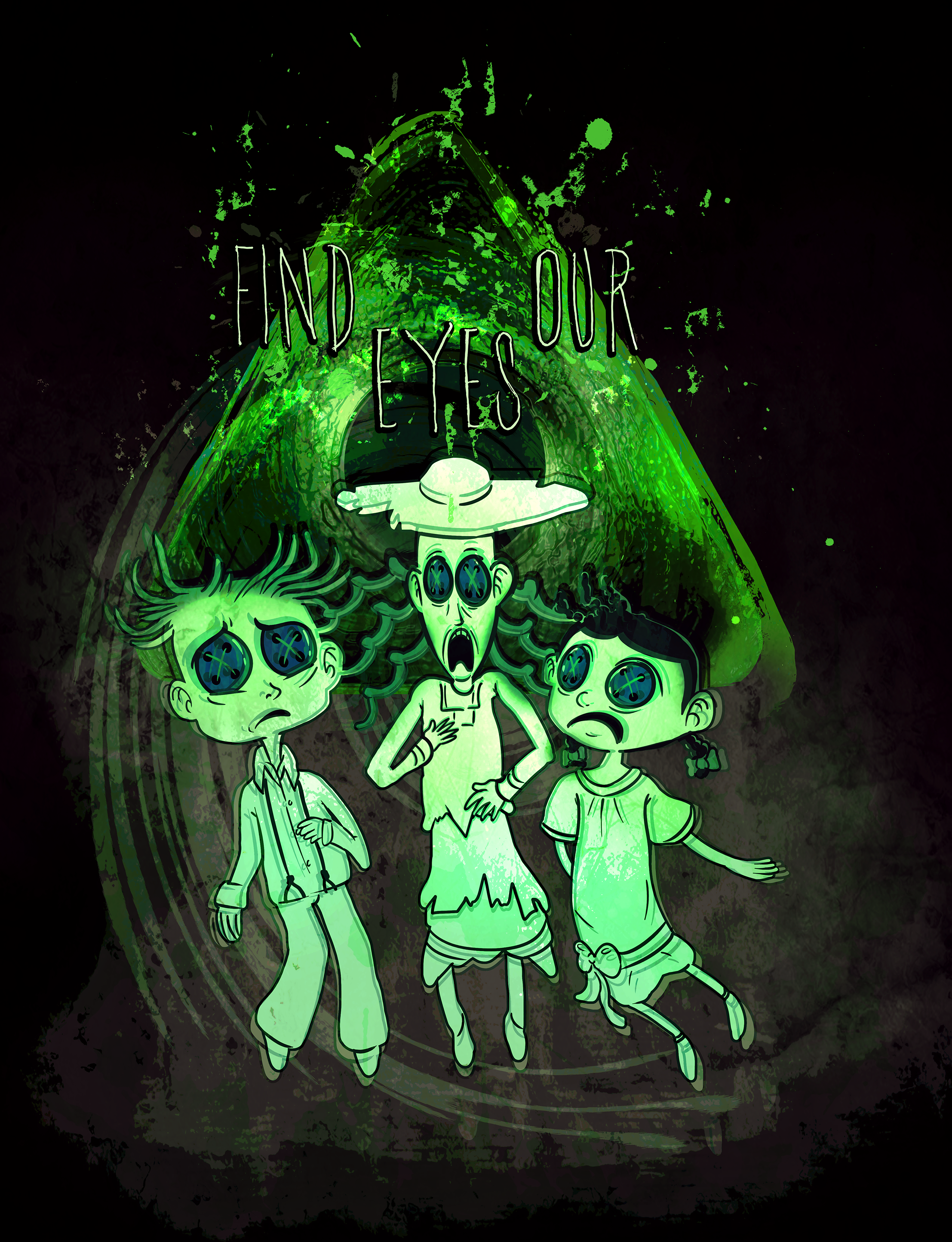 Coraline Ghost Children