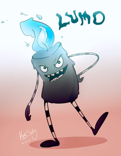 Lumo the Candle