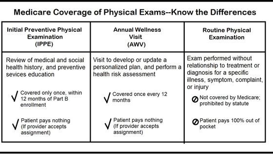Wellness Visit vs Physical