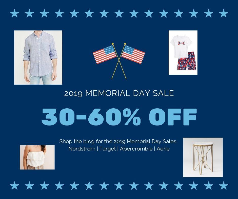 2019 Top Memorial Day Sales