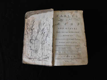 1754 Fables of Aesop book