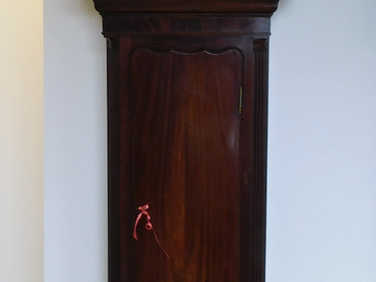 Longcase 8-day clock by Barwise Mitchell of Cockermouth