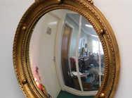 Regency style convex mirror