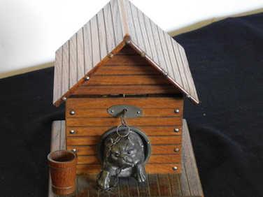 Dog kennel cigar box