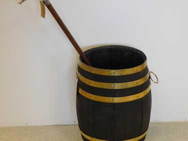 Barrel stick stand