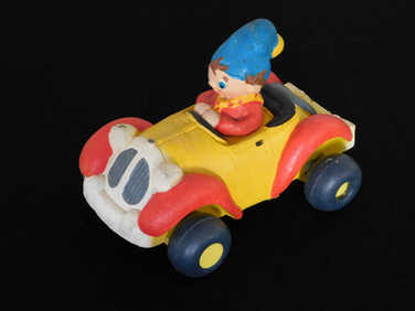 Noddy foam / rubber car