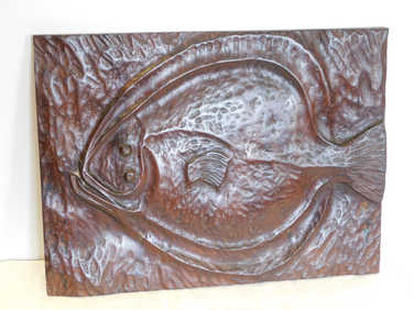 Carved turbot