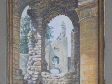 Sherborne old castle by Marjorie Brooke