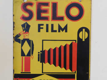 Selo film enamel sign