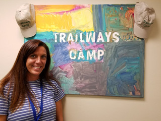 Introducing Anna Mullvain, the Trailways Camp Coordinator