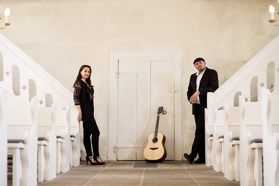 Akustik Duo CarryMe Hochzeit Kirche