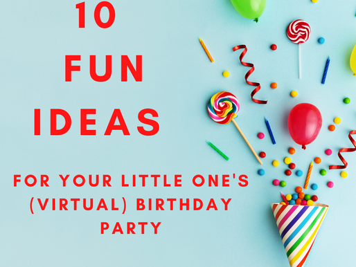 Virtual Birthday Party Fun!