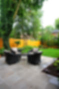 Backyard terrace Toronto
