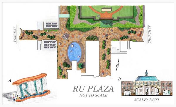 Ryerson University Main Campus Landscape Design