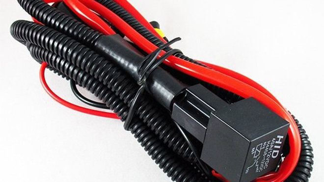 9006 HID Relay Harness