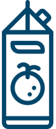 icon representing a brick of juice