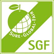 logo sgf sure global fair certification