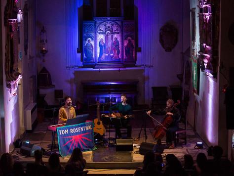 Tom Rosenthal at St Pancras Old Church - 15.03.19