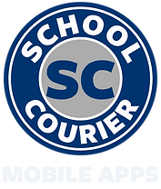 High Res School Courier Logo with MOBILE