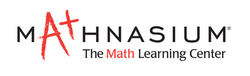 Mathnasium Logo - White (Trimmed)
