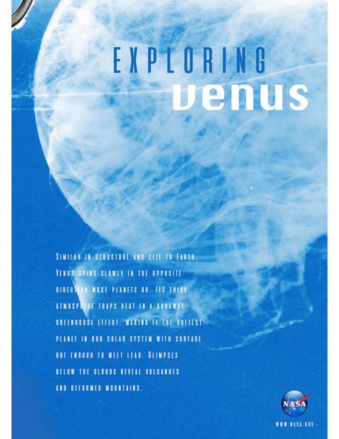 Exploring Venus Info Poster