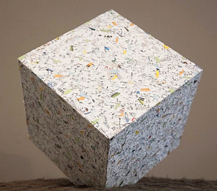 Recycled Cube
