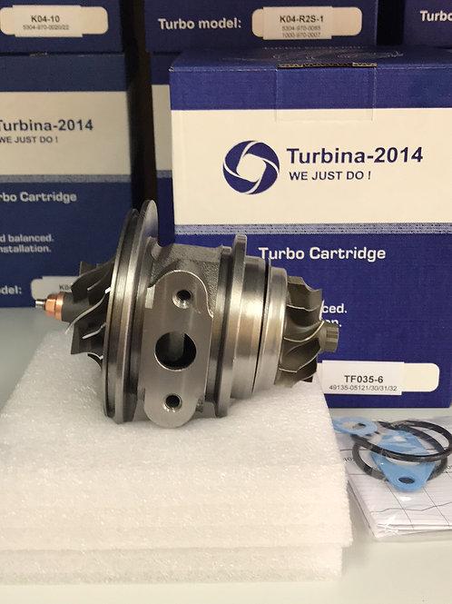 TF035-6 | Картридж для турбин: 49135-05121, 49135-05130, 49135-05131