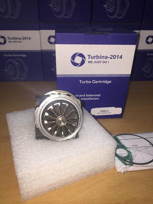 TD03-3 | Картридж для турбин: 49131-05100, 49131-05101, 49131-05110