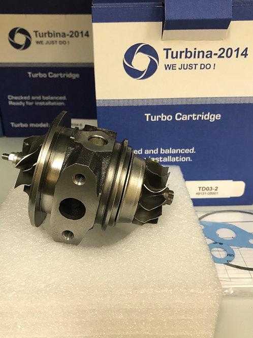 TD03-2 | Картридж для турбин: 49131-05000, 49131-05001, 49131-05010
