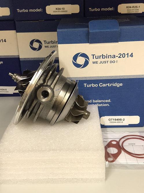 GT1549S-2 | Картридж для турбины 720244-5004S, 720244-5002S, 702244-0002