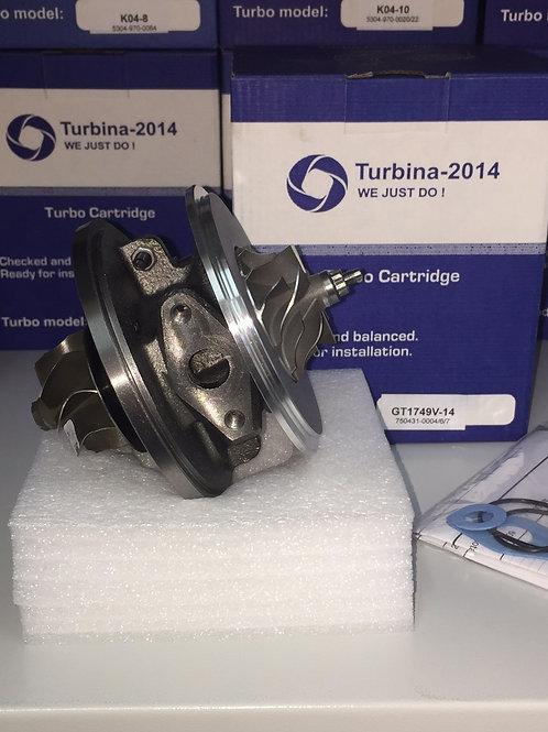 Картридж для турбины 750431-0004, 750431-0006, 760431-0007, 750431-0009, 750431-0010, 750431-0012, 750431-0015,7504310004