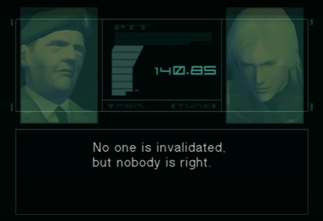 Kojima Was Right: An Essay Response to You Must Comply