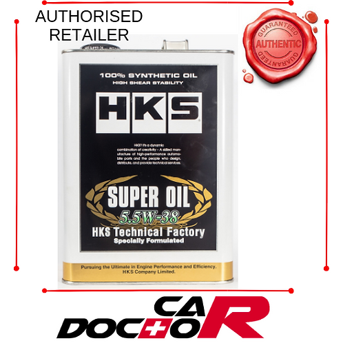 HKS 5.5W38 RESPONSE FULL SYNTHETIC TECHNICAL FACTORY SERIES ENGINE OIL 4L