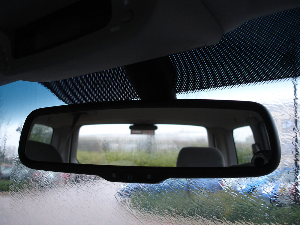Consult rear-view mirror, signal intention....