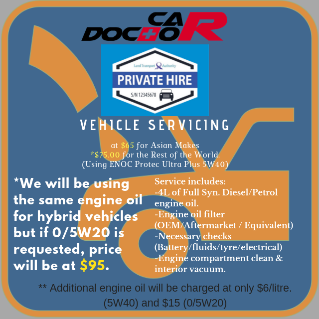 PHV Service (Asian) Non Hybrid