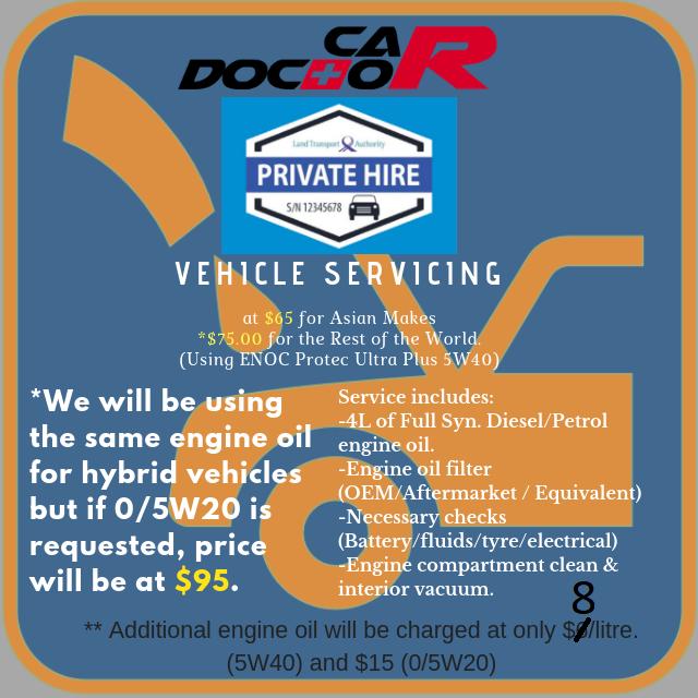 PHV Service (Asian) Hybrid
