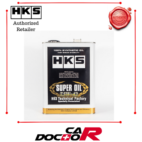HKS 7.5W42 RESPONSE FULL SYNTHETIC TECHNICAL FACTORY SERIES ENGINE OIL 4L