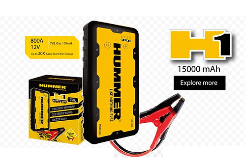 Hummer H1 15000mAh Jump Starter Power Bank