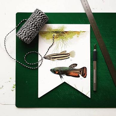 DIY workshop Slingers maken - foto: Wilmy van Ulft
