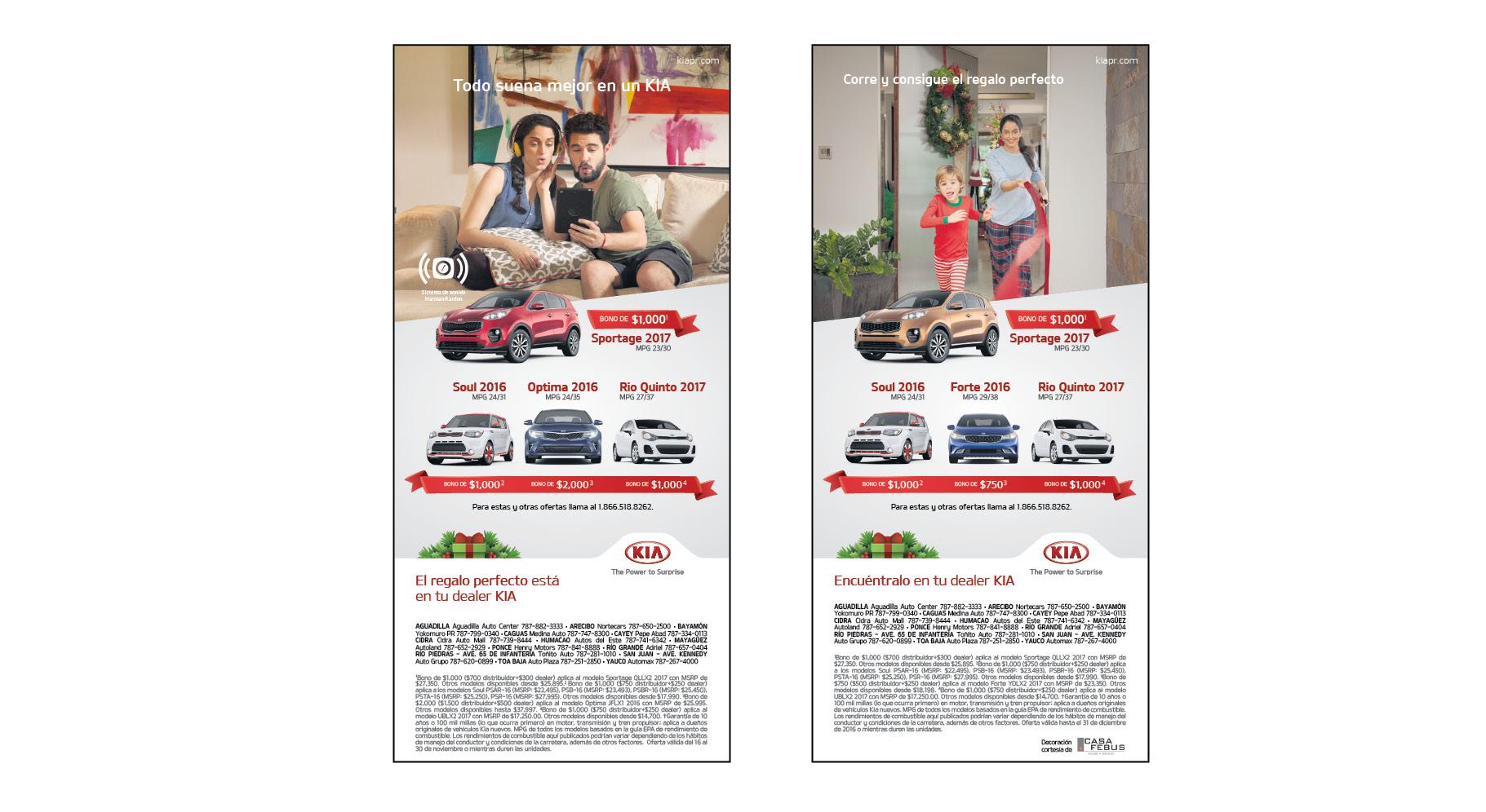 Print I No Hay Navidad Sin Un Kia
