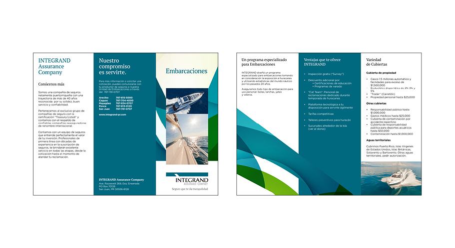 Integrand Product Brochures