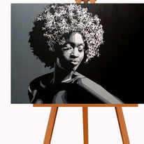 חמישים גוונים של אפור - אישה שחור לבן