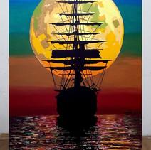 ספינת פיראטים לאור ירח