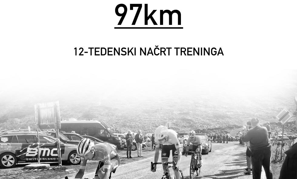 MARATON FRANJA - 97km 12-tedenski načrt treninga