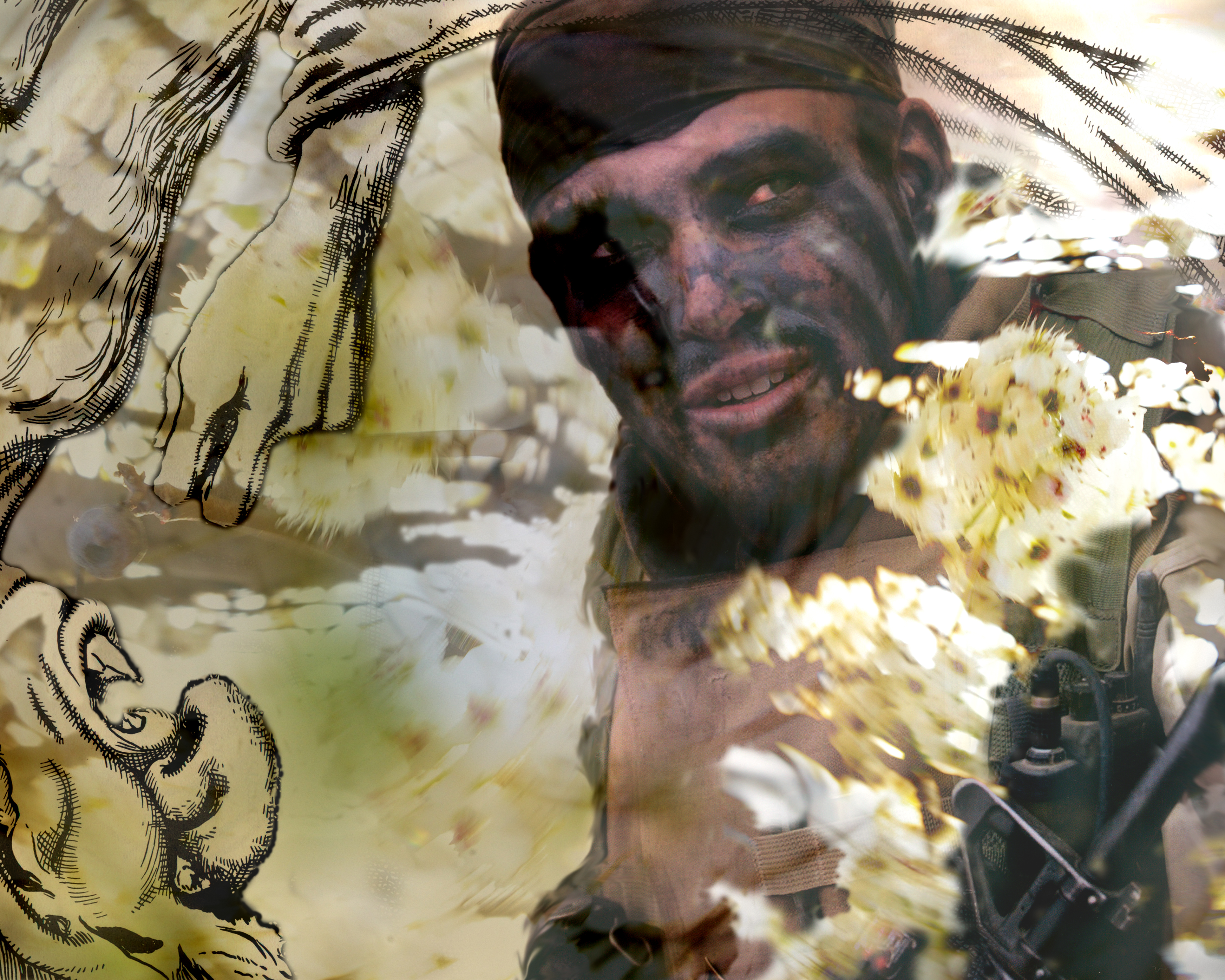 Iraqsoldierfacepaint20x16