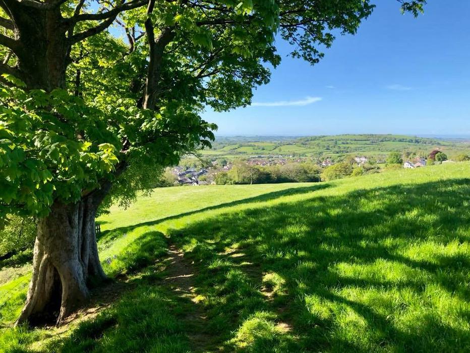 A view of Crown Hill Llantwit Fardre
