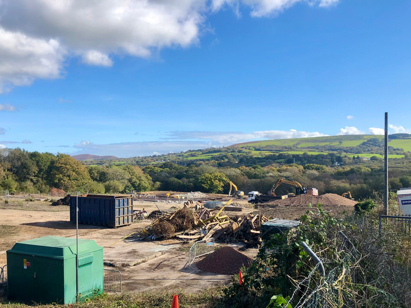 Planning application for a new housing development on the old Nipa site in Llantwit Fardre.