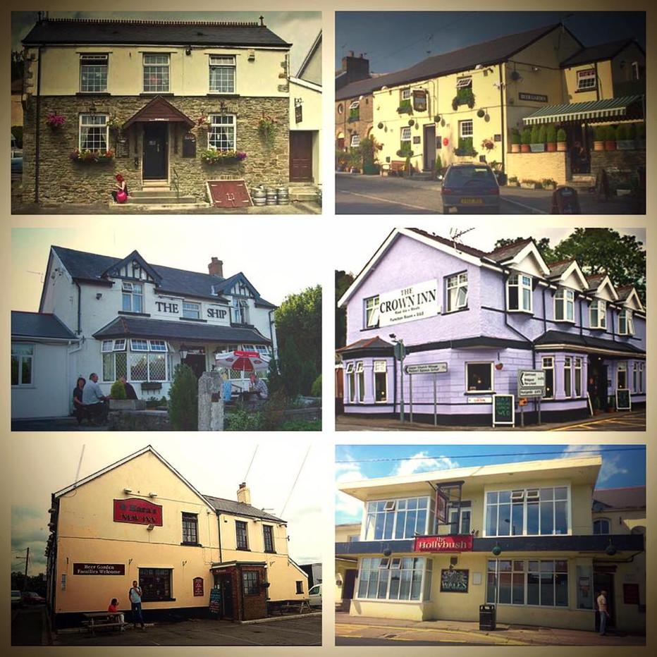 The Pubs of Llantwit Fardre