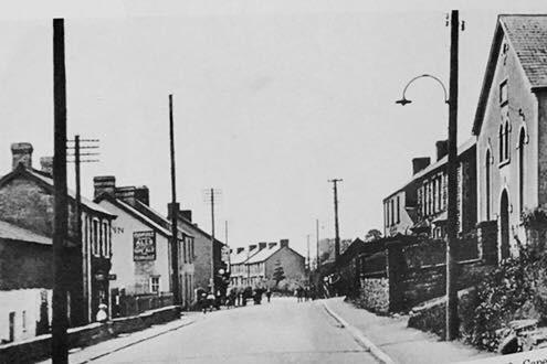 Old Llantwit Fardre Main Road