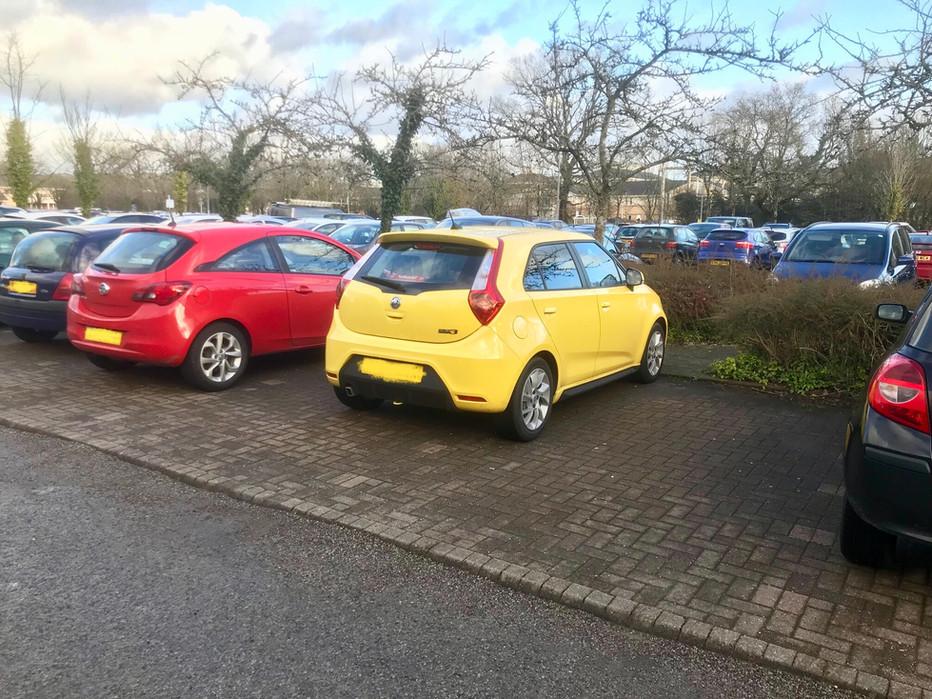 Royal Glamorgan Hospital Parking